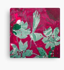 Hot Pink Paradise Canvas Print