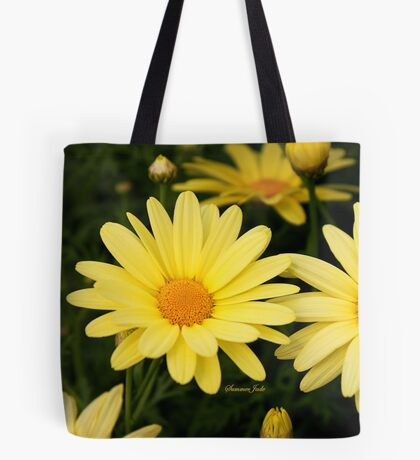 Just Call Them Mellow Yellow ~ Daisies Tote Bag