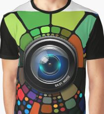 Camera Lens Graphic Design Graphic T-Shirt