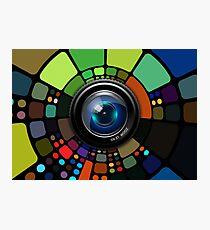 Camera Lens Graphic Design Photographic Print
