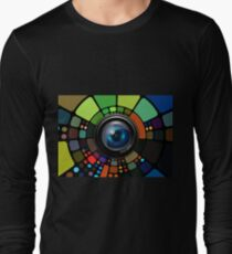 Camera Lens Graphic Design T-Shirt