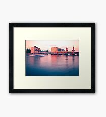 Oberbaum Bridge Framed Print