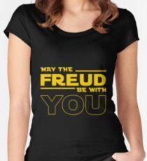 freud star war Women's Fitted Scoop T-Shirt