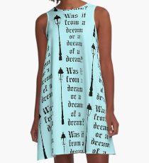 Through the Closet A-Line Dress