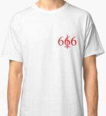 † Six Hundred and Sixty Six † Classic T-Shirt