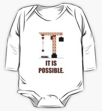 Impossible it is Possible - Business Quote Kids Clothes