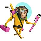 Chimp Engineer Miles OBrien by Kyle Armstrong