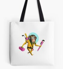 Chimp Engineer Miles OBrien Tote Bag