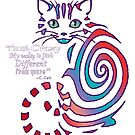 Cheshire Cat 'just different'  by tinymystic