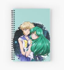 Haruka and Michiru (SMC III) Spiral Notebook