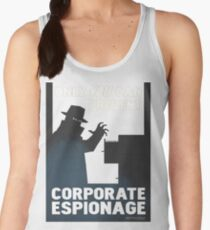 Only You Can Prevent Corporate Espionage Women's Tank Top