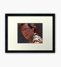 Groovy Ash - Army of Darkness Framed Print