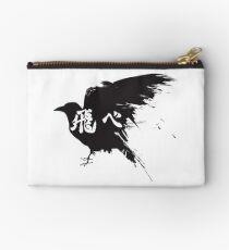 Haikyuu Crow Fly Zipper Pouch