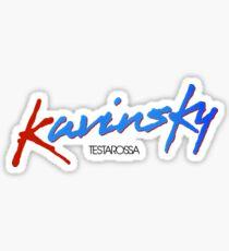 Kavinsky Sticker