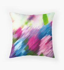 Mk Abstract Throw Pillow