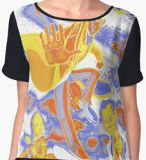Inspector Spacetime Women's Chiffon Top