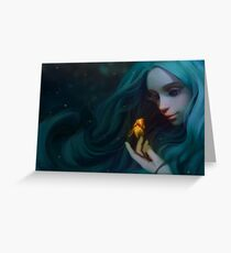 Little Mermaid Greeting Card
