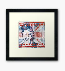 Punk Girl Framed Print