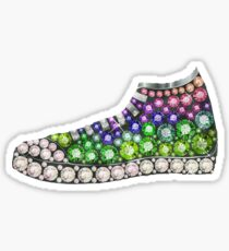 PolyPunk Kicks w Bling Bling by Junky Star Brand Sticker