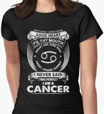 cancer horoscope T-shirt Womens Fitted T-Shirt