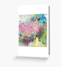 Mk abstract 3 Greeting Card
