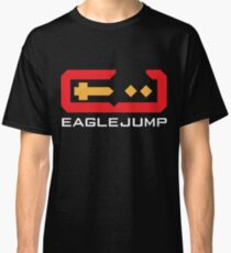 Eagle Jump - White Classic T-Shirt