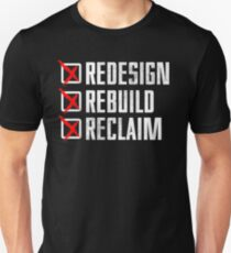 Seth Rollins - Redesign Rebuild Reclaim T-Shirt