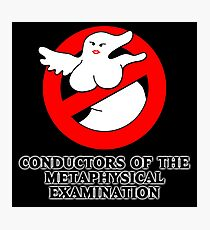 Conductors of the Metaphysical Examination Photographic Print