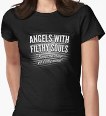 Angels With Filthy Souls Women's Fitted T-Shirt