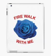 Fire walk with me iPad Case/Skin