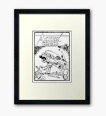 Pengiun Action comics Framed Print