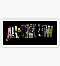 All Time Low logo + albums Sticker