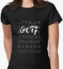 GOT7 3D Tee Black Ver Women's Fitted T-Shirt