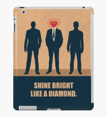 Shine Bright Like A Diamond - Corporate Start-up Quotes iPad Case/Skin