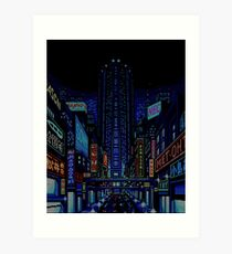Welcome to Neo Kobe City Art Print