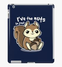 SQUIRRELL NUTS  iPad Case/Skin