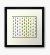 Pineapple Ananas Party Everett Co Framed Print