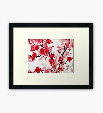 Cherry Blossoms III Framed Print
