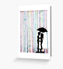 Watercolor Love Greeting Card