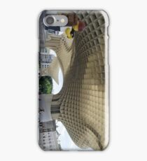 The Lego Backpacker in Seville iPhone Case/Skin