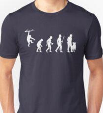 Evolution Of Man Police Dog Unisex T-Shirt