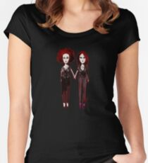 Little Twins Women's Fitted Scoop T-Shirt