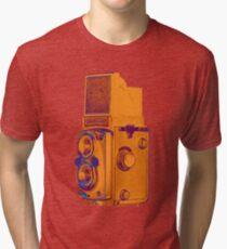 Rolleiflex Automat 6x6 - Model 2 = K4B Tri-blend T-Shirt