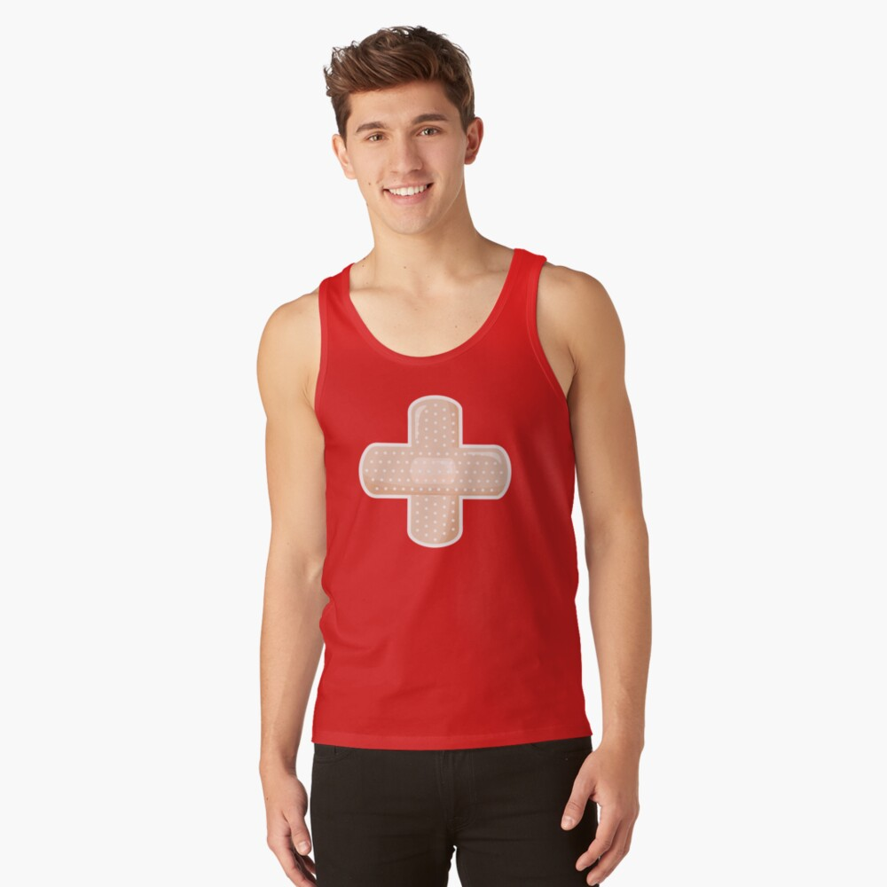 First Aid Plaster Tank Top