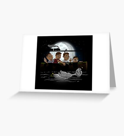 Stand By E.T. Greeting Card