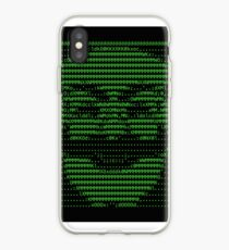 Herr Roboter fsociety Maske in Code (wie in Social Engineers Toolkit gesehen) iPhone-Hülle & Cover