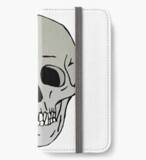 Skull head iPhone Wallet/Case/Skin