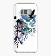 EXPECTO PATRONUM HEDWIG WATERCOLOUR Samsung Galaxy Case/Skin