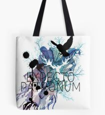 EXPECTO PATRONUM HEDWIG WATERCOLOUR Tote Bag