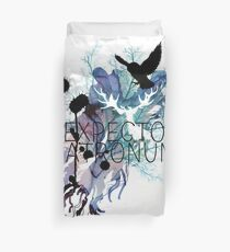 EXPECTO PATRONUM HEDWIG WATERCOLOUR Duvet Cover